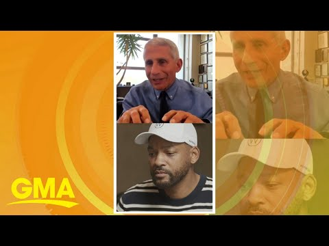 Will Smith and Dr. Anthony Fauci answer kids' questions on COVID-19