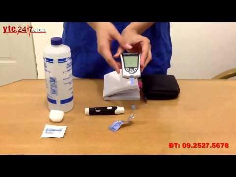 Hướng dẫn sử dụng máy đo đường huyết Abbott FreeStyle Optium