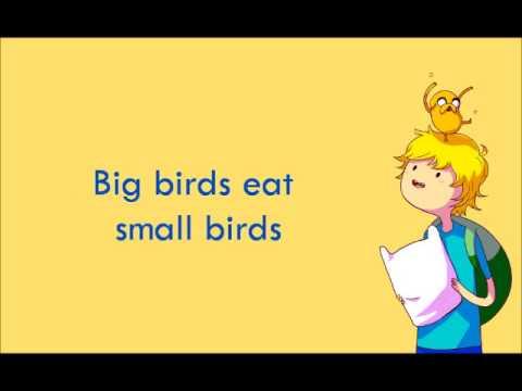 Adventure Time - Food Chain (Lyrics)