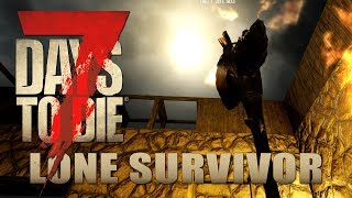 Tödliche Stille | Lone Survivor 015 | 7 Days to Die Alpha 17 Gameplay German Deutsch thumbnail