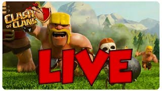 Clash of Clans LiveStream!!! Top 5,000 in THE WORLD!!!!