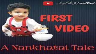 First Video/Nankhatai/Indian Cookie/Quick and easy Recipe #AyShNovelties#MomandSon#Cooking#Nankhatai
