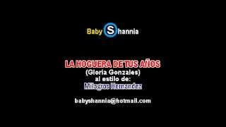 MILAGROS HERNANDEZ  - LA HOGUERA DE TUS ANOS (demo karaoke)