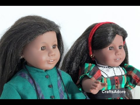 American Girl Doll Opening Addy Walker Pleasant Company AG Doll & BeForever Comparison ~HD~