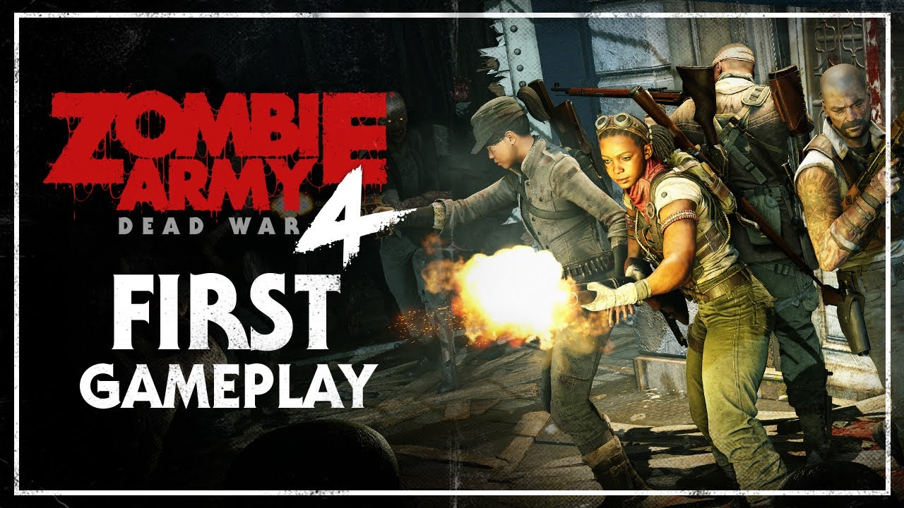 Zombie Army 4: Dead War – First Gameplay (E3 Demo)