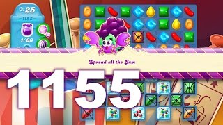 Candy Crush Soda Saga Level 1155 (3 stars, No boosters)
