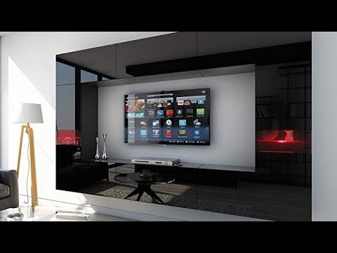BEAUTIFUL WAY TO DECORATE TV WALL DESIGN IN YOUR LIVING ROOM