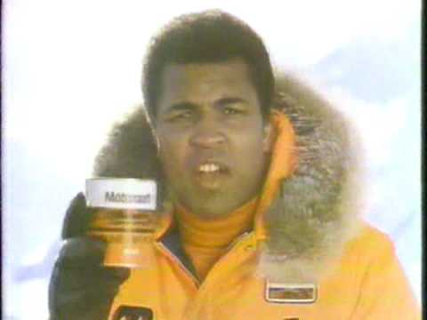 Ali in Alaska 1978 TV ad