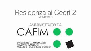 CAFIM SA - Residenza ai Cedri 2 -  Mendrisio