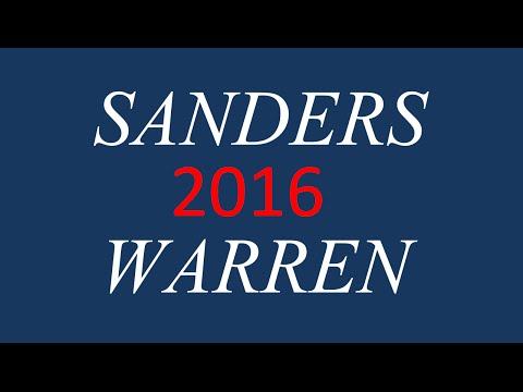 Bernie Sanders Elizabeth Warren Revolution Vote Sanders/Warren 2016