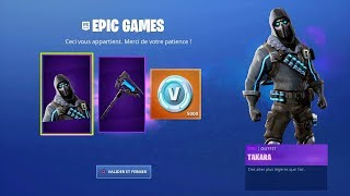 Here's the NEW FREE PACK of SAISON 10 on FORTNITE SKIN PIOCHE and V-BUCKS FREE FORTNITE!
