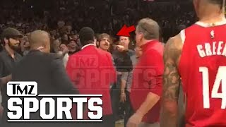 Anthony Kiedis Flipped Off, Cussed Out Rockets Staffer During Lakers Brawl | TMZ Sports