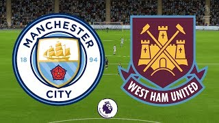 Premier League 2017/18 - Manchester City Vs West Ham United - 03/12/17 - FIFA 18