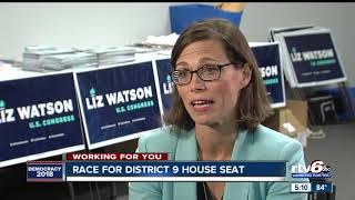 Trey Hollingsworth, Liz Watson square off in 9th District