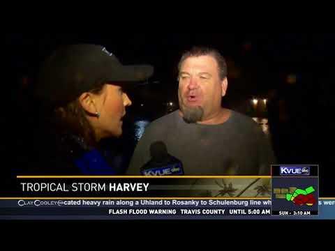 KVUE - Hurricane Harvey causes severe flooding in LaGrange