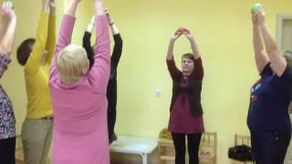 """Пряничный педсовет 2016 обучение воспитателей - 2 """"физкультминутка"""""""