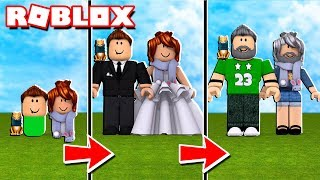 OUR WEDDING DAY ! Real Life at Roblox