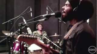 "Zion and the Lion Roots Band ""Uplift Your Spirit"" Live at KDHX 11/11/11"