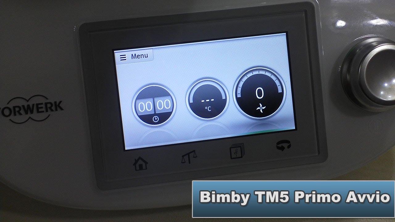 Bimby tm5 ricette guidate