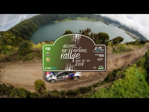 ERC AZORES AIRLINES RALLYE 2018    VIDEO