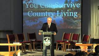 """You Can Survive Country Living"" Part 1 by Jere Franklin"