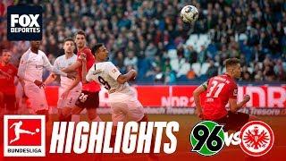 Hannover 96 0-3 Eintracht Frankfurt | HIGHLIGHTS | Jornada 25 | Bundesliga