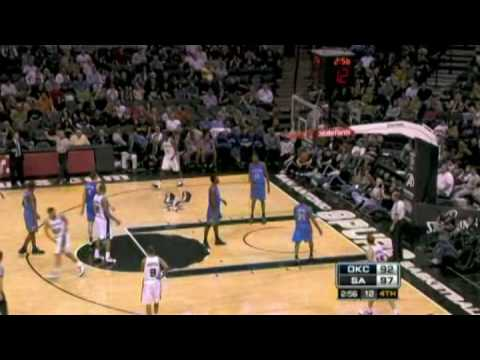 Manu Ginobili 2008-09 NBA Season Highlights