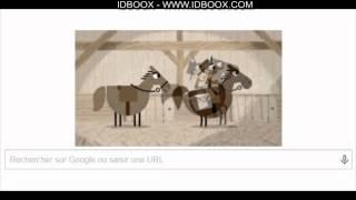 Pony Express Doodle Google