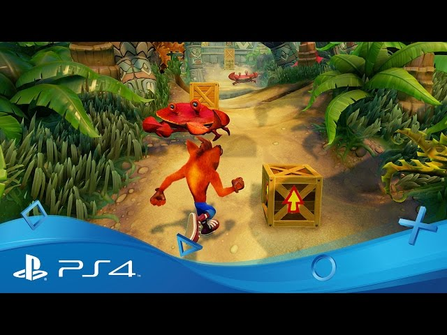 Crash Bandicoot: N. Sane Trilogy | PSX 2016 Gameplay | PS4