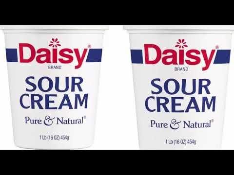 Health Benefits of Sour cream