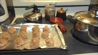 Homemade Spaghetti & Meatballs Recipe