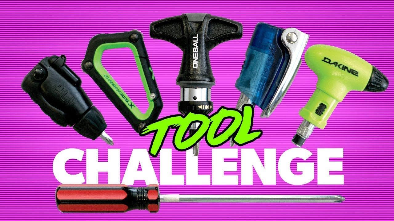 1f46a7f400d The Best Snowboard Tool   Tool Challenge!!