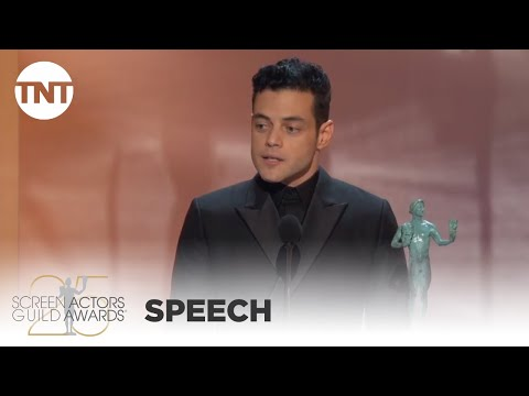 Rami Malek: Award Acceptance Speech | 25th Annual SAG Awards | TNT