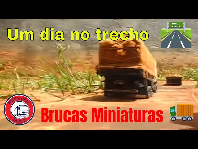 AM miniaturas de caminhoes Travel Video