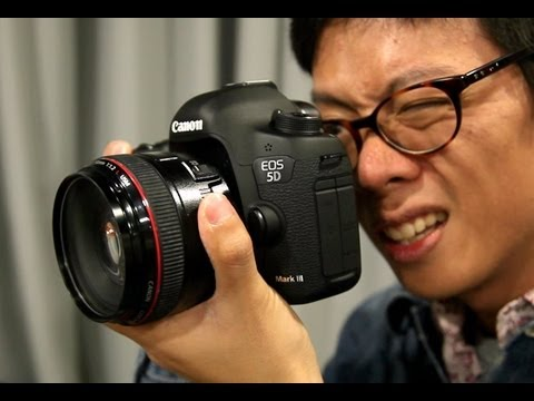 Canon 5D Mark III Hands-on First Impression