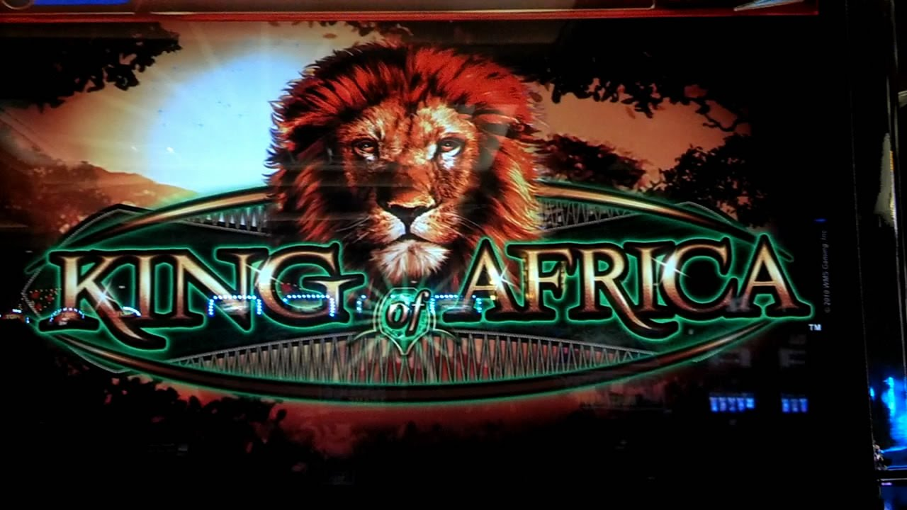 King Of Africa Slot Machine Youtube