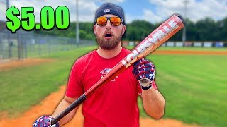 $5.00 Goodwill Baseball Bat Challenge!