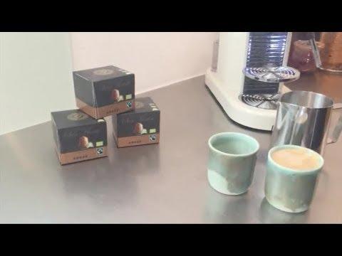 Annette Heick laver sin favorit kaffe - Espresso Sumatra fra Real Coffee