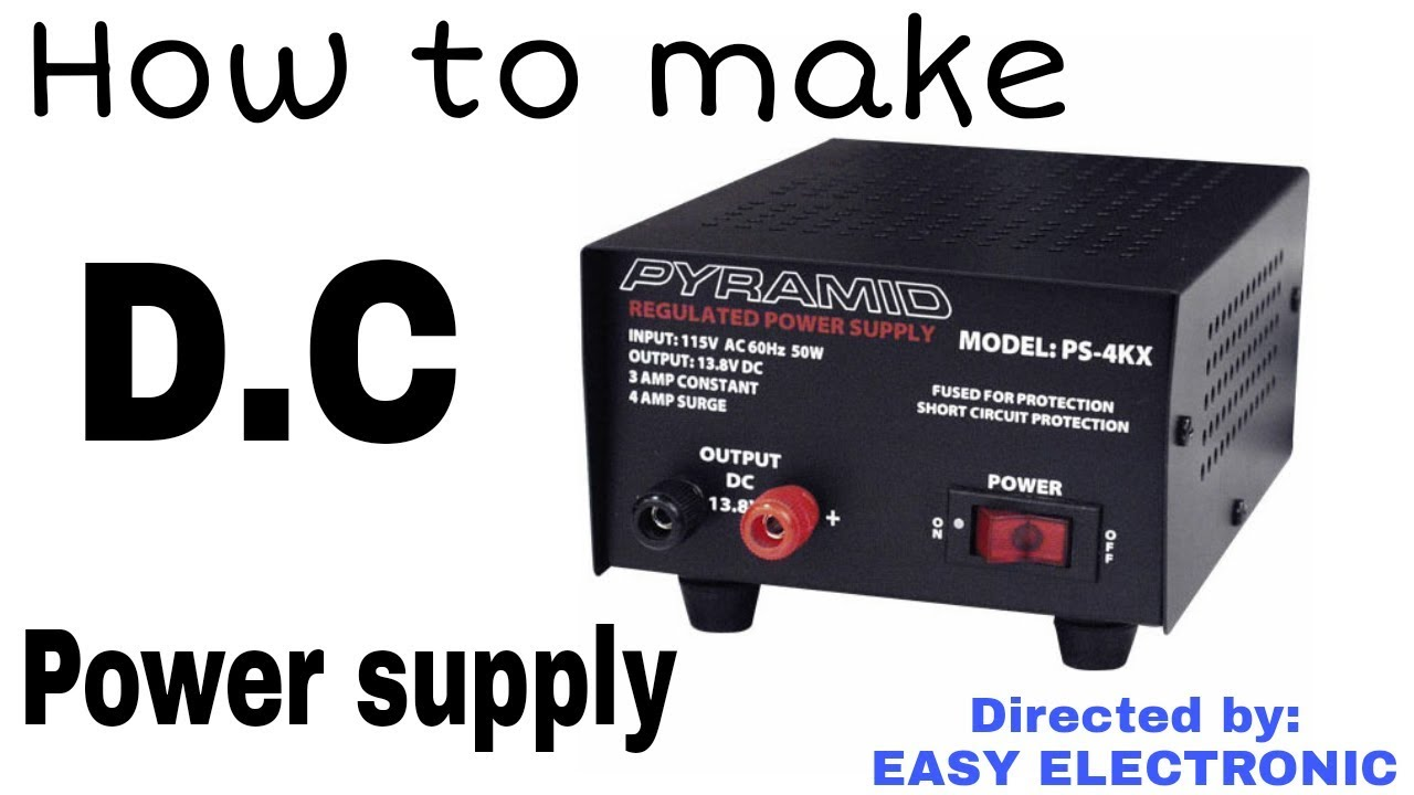 How to make a variable D C Power supply