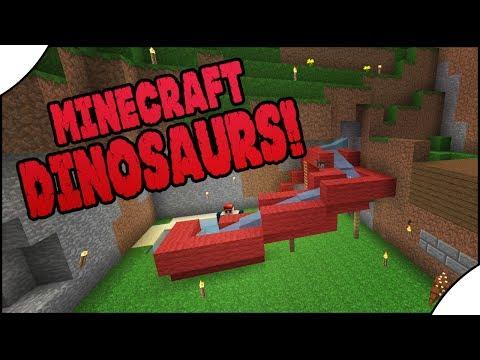 Minecraft Dinosaurs!    483    Water Slide!