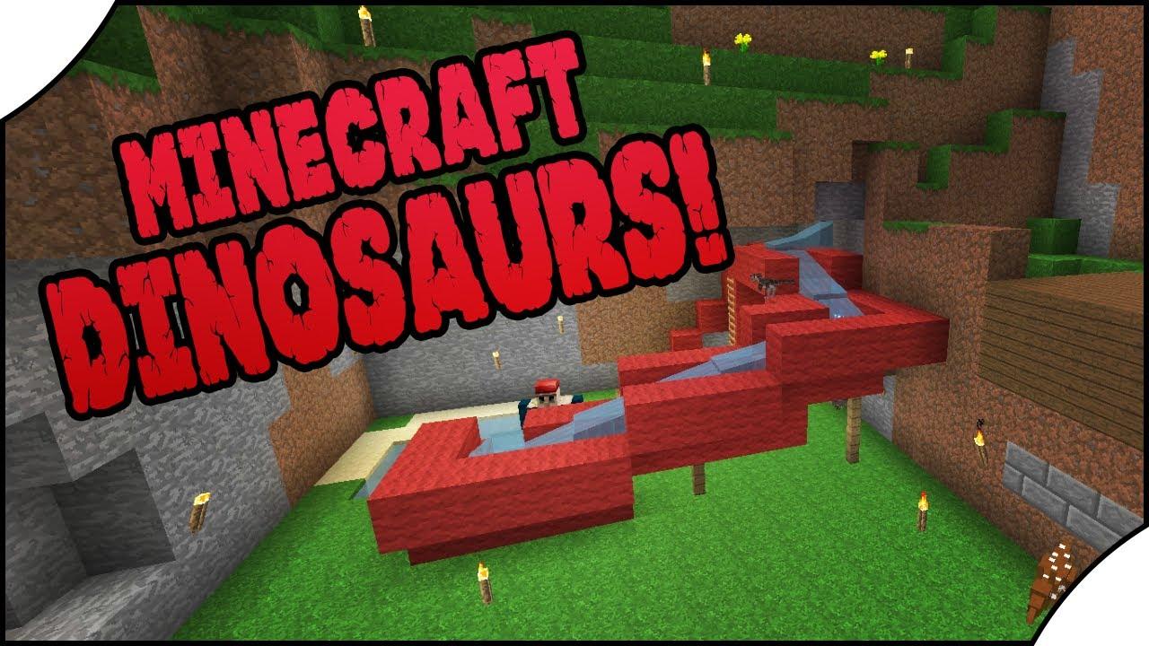 Minecraft Dinosaurs! || 483 || Water Slide! - getplaypk