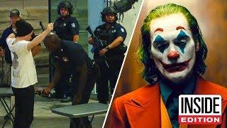 Cops Increase Security at 'Joker' Movie Screenings