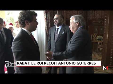 Le Roi Mohammed VI reçoit en audience le secrétaire général des nations unies, Antonio Guterres