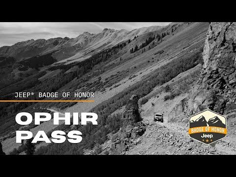 Ophir Pass 4WD Trail - Silverton, Colorado