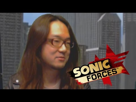 The most awkward Sonic Forces interview with Tomoya Ohtani