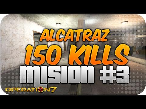 150 KILLS EN ALCATRAZ! MISIÓN #3 OPERATION 7