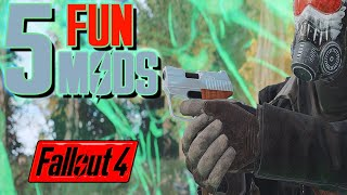 5 Cool Weapon Sidearms Mods for Fallout 4