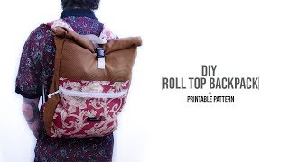 Roll Top Backpack DIY