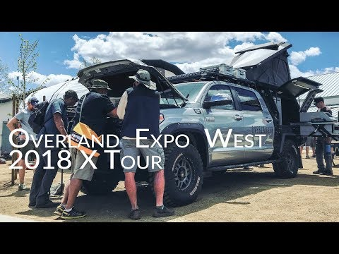 Overland Expo West: 2018 X Tour