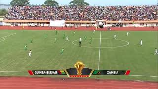 Guinea Bissau vs Zambia 2-1 Highlight HD quality 15/10/2018